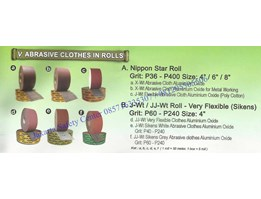 Jual : Amplas / Abrasive Clothes In Rolls