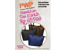Tas Wanita / Handbag / Fashion Bag - GLEES TOTE G9PVC