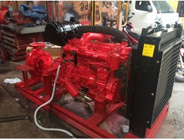 Isuzu Fire Pump 750 GPM