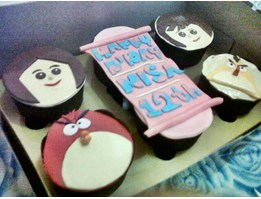 Jual varians example of cake and cup cake