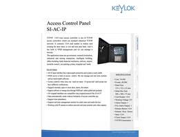 Access Control Panel KEYLOK