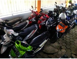 Rental Motor Matic di Jogja