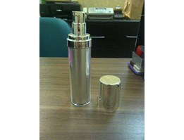 Jual Botol Airless Full Silver 35ml