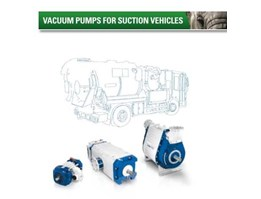 Vacuump Pump for Suction Vehicles