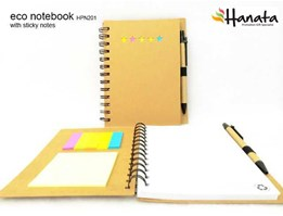 Jual Eco Notebook with Sticky Notes