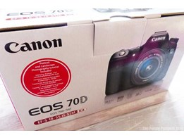 Jual Canon EOS 70D DSLR Camera with 18–135mm IS STM Lens