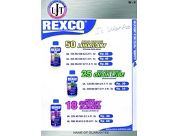 LUBRICANT,CHAIN LUBE DAN CONTACT CLEANER