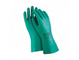 Sarung Tangan Kimia ( Nitril Chemical Gloves for Industrial)