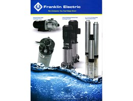 FRANKLIN ELECTRIC Submersible Motor, Pump and Control