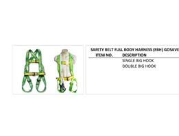 Jual SAFETY BELT FULL BODY HARNES (FBH) GOSAVE