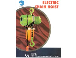 Jual ELECTRIC CHAIN HOIST YOKOGAWA,HITACHI,NITTO