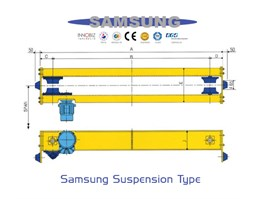 Jual SAMSUNG Crane End Carriages