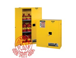 Yellow Safety Cabinet For Combustibles Justrite