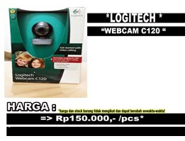 Jual Logitech Webcam Quickcam C120 Murah