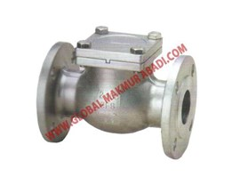 Jual 317 STAINLESS STEEL SWING CHECK VALVE FLANGE END