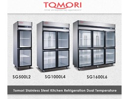 Mesin Pendingin - Tomori Kitchen Refrigeration -Bouble Temp