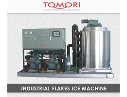 Mesin Pembuat Es - Tomori Industrial Flakes Ice Machines