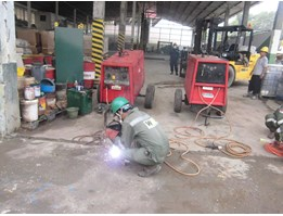 Rental Lincoln Engine Driven Welding 400 As