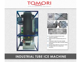 Mesin Pembuat Es - Tomori Industrial Tube Ice Machines