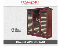 Lemari Pendingin - Tomori Wood Wine Storage