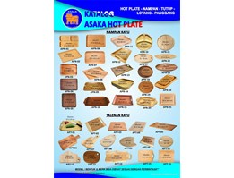 Jual Hot Plate Steak ASAKA Bentuk Oval Murah