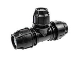 Compression Tee Reducer Fitting HDPE