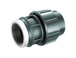 Compression Cap Fitting HDPE