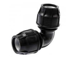 Compression Elbow Fitting HDPE