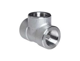 Jual Tee Stainless Steel Pipe Fitting, Tee, Class 3000, NPT Female