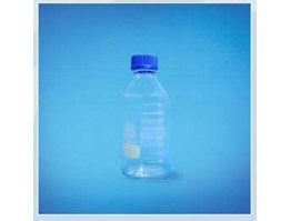 Jual Laboratory Bottle With PP Screw Cap and PP PR (Blue)