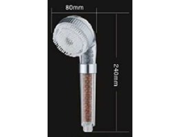 5in1 Mineral Ion Shower Head w/ Brush | Shower Sisir Sikat Terapi Air