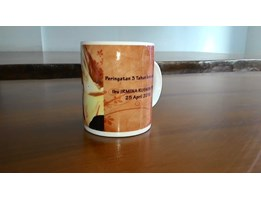 Jual Mug Bone import coating 11 oz