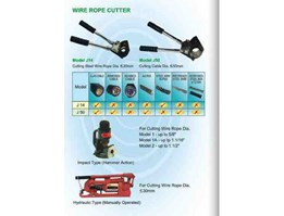 Jual Wire Rope Cutter