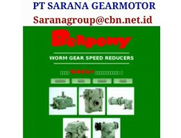 Speed Reducer Worm Gear Single Stage Bellpony Gearbox