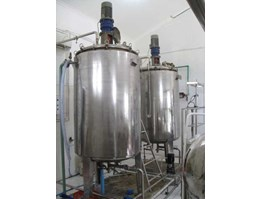 Jual Mixer Double Jacket, etc