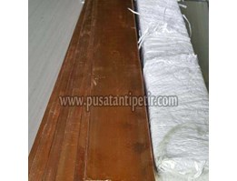 Plat Strip Tembaga 4x50x4000