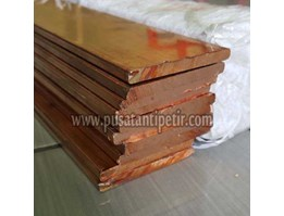 Plat Strip Tembaga 4x30x4000