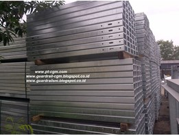 Jual Post Channel - Tiang Guardrail