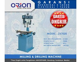 Jual Orion Milling & Drilling Machine - ZX7025
