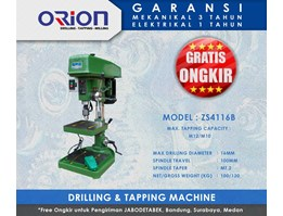 Jual Mesin Bor Orion Drilling & Tapping - ZS4116B