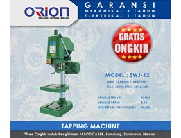 Jual Orion Tapping Machine-SWJ-12