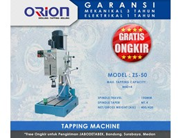 Jual Orion Tapping Machine-ZS-50