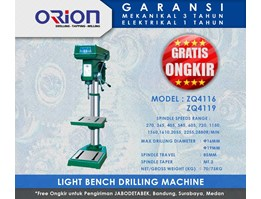 Orion Lightbench Drilling Machine-ZQ4125/ZQ4132