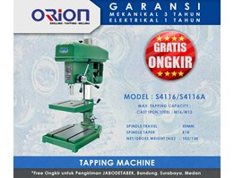 Jual Orion Tapping Machine-S4116/S4116A