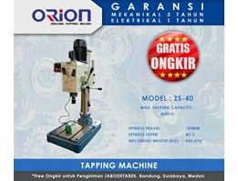 Jual Orion Tapping Machine-ZS-40