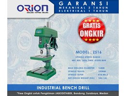 Jual Mesin Bor | Orion Industrial Bench Drill - Z516