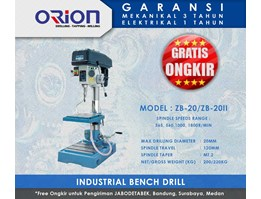 Jual Mesin Bor Orion Industrial Bench Drill - ZB-20/ZB-20II