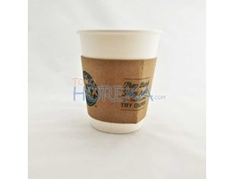 Jual Sleeve Jacket Hot Paper Cup 8 Oz