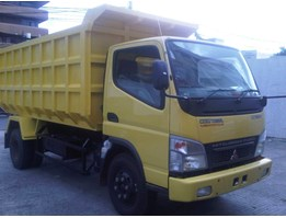 Jual Dump Truck Kredit Canter FE 74HD 125Ps 6Ban Tahun 2016 new