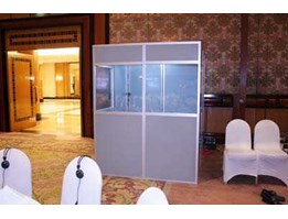 Sewa/Rental Interpreter Booth